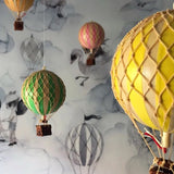 Vintage Hot Air Balloon - White/Ivory