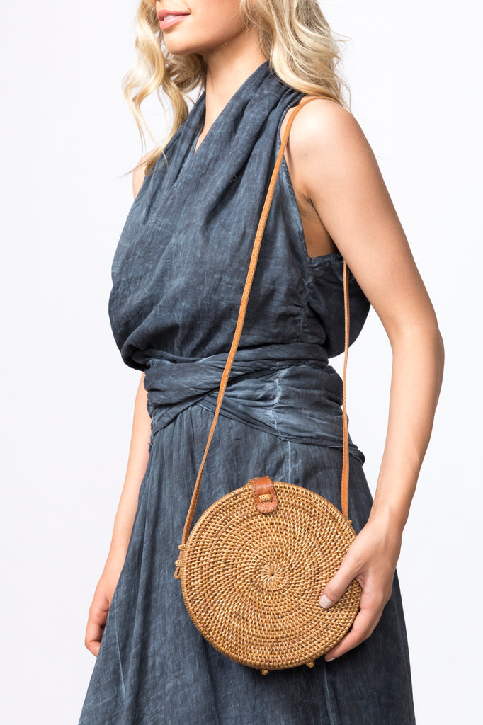 Atta Roundie Bag - Natural