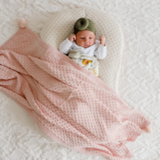 Milly Baby Blanket - Pink