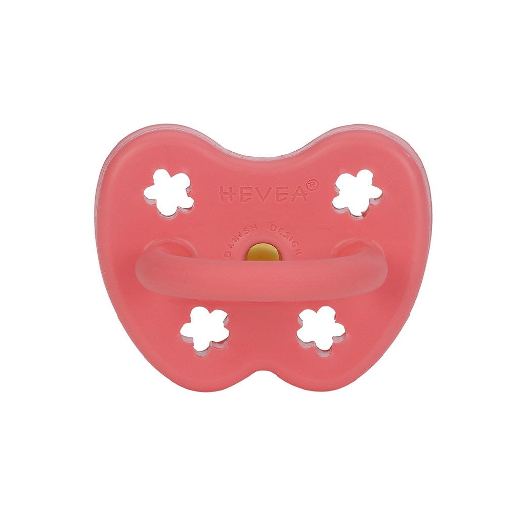 Hevea Coral Pacifier - Orthodontic