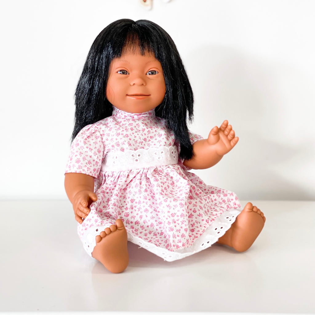 Baby With Down Syndrome Doll - Asian Girl
