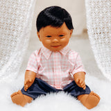 Baby With Down Syndrome Doll - Asian Boy