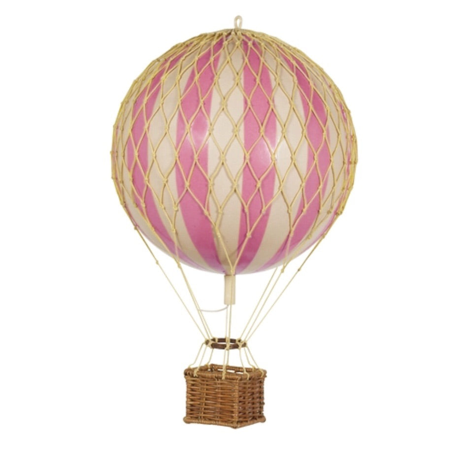 Vintage Hot Air Balloon - Pink