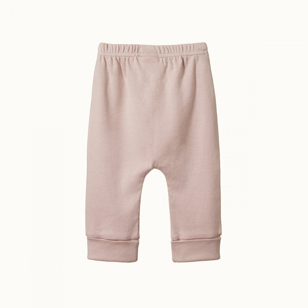 Cotton Drawstring Pants - Rosebud