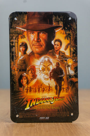 Metal Card - Indiana Jones and the kingdom of the crystal skull (Postcard)