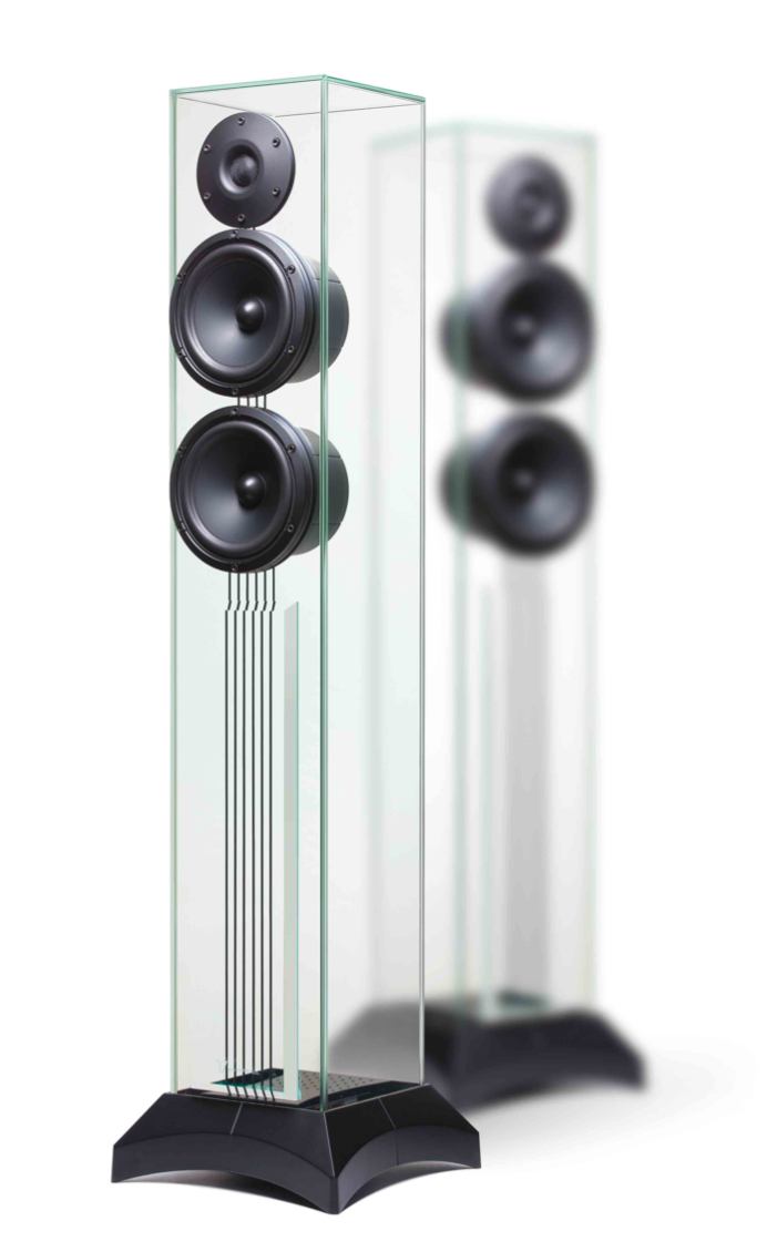 Waterfall Audio - Glass Speakers - Victoria Evo (per paar)
