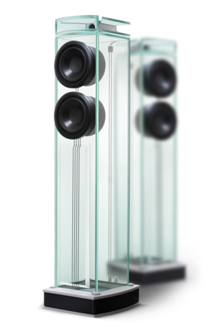 Waterfall Audio - Glass Speakers - Niagara (per paar)