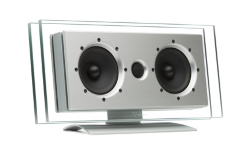 Waterfall Audio - On-Wall Speakers - Elora Evo center (horizontaal) (per stuk)