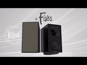 Klipsch - The Fives HI-FI Powered speaker (Per Paar)