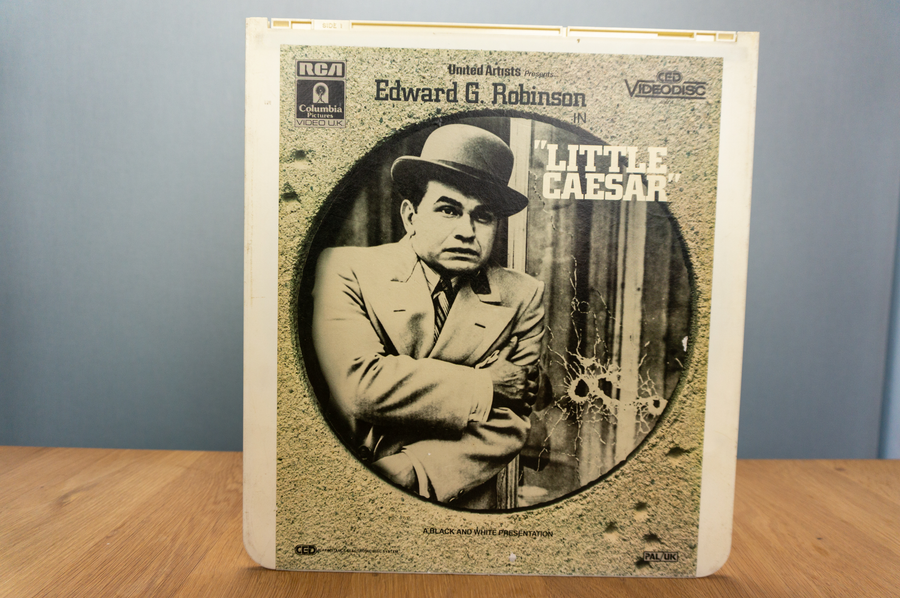 Laser disc - Little Caesar