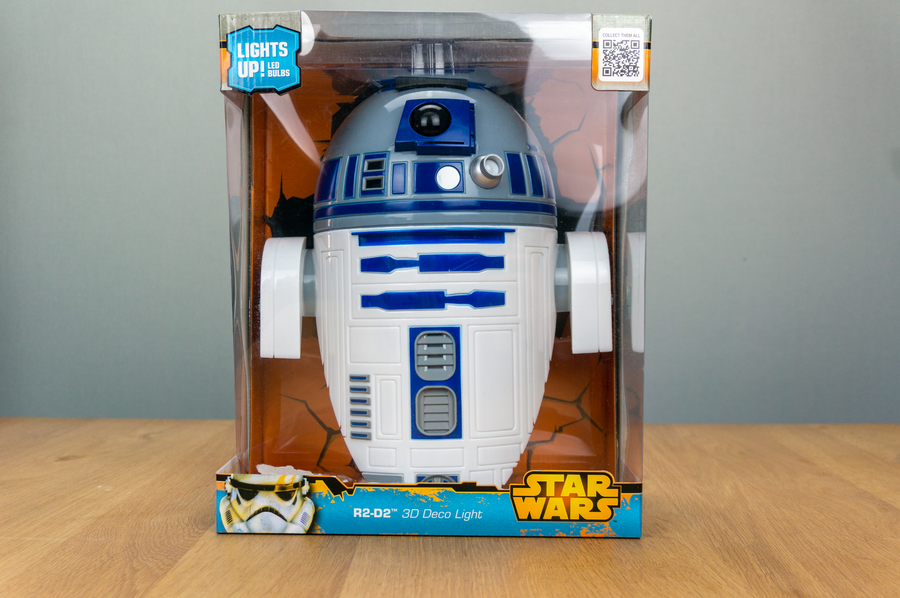 3D Deco Light - Star Wars R2-D2 - Wandlamp