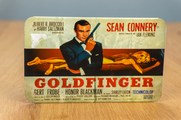 Metal Card - James Bond - Goldfinger (Postcard)