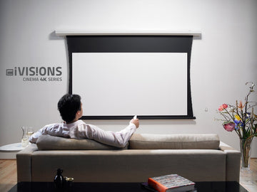 IVisions Screen - Cinema 4K Series Tab-tensioned - 16:9 - Gain 1.0 (IN DEMO)