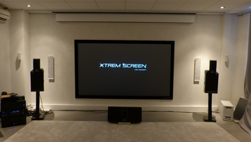 Xtrem Screen - Velvet spanscherm - Daylight - 16:9 - Gain 1.0