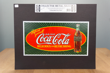 Metal Sign -Coca Cola - Refresh yourself