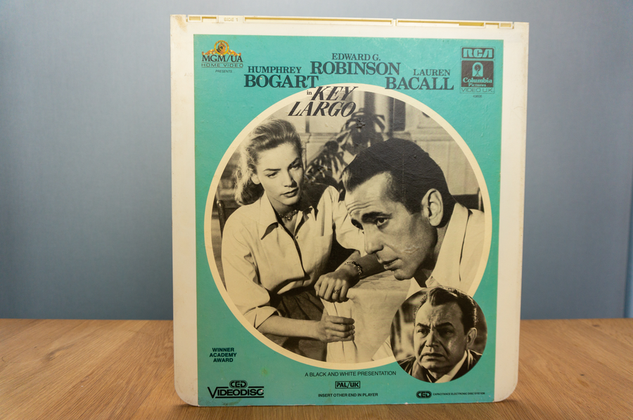 Laser disc - Key Largo