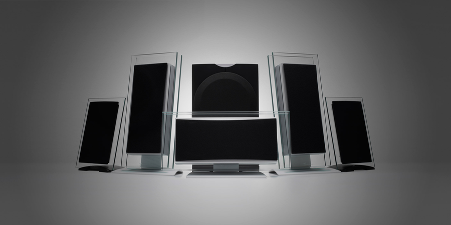 Waterfall Audio - Pack 4 - 1x Elora Evo Center + 2x Elora Evo (L/R) 2x Hurricane Evo + 1x HF2-250 Sub (incl. muurbeugels)