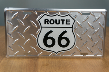 License Plate - Route 66