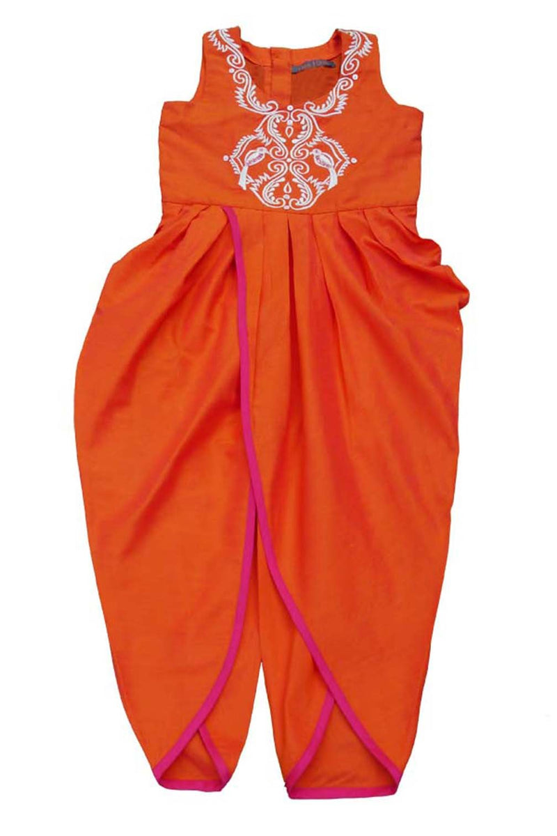 Vermillion Dhoti Pant Jumpsuit from Nee & Oink