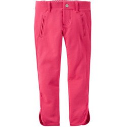 French Terry Jeggings Pink
