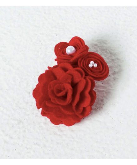 Aayera's Nest Cluster Red Rose Wristband