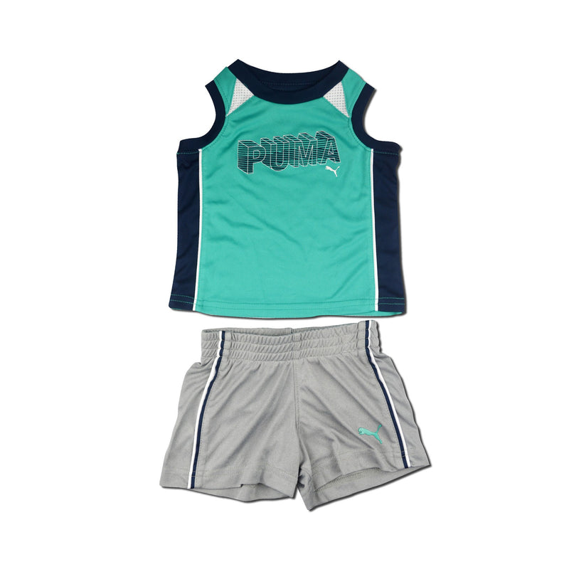 Puma Baby Boys 2 piece Simply Green Set 16284f0594ff