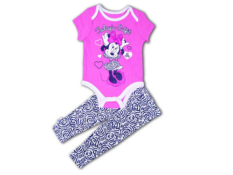 Disney Baby Girl Todays Outfit Romper Set