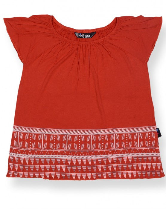 Ventra Angel Girls Red Top