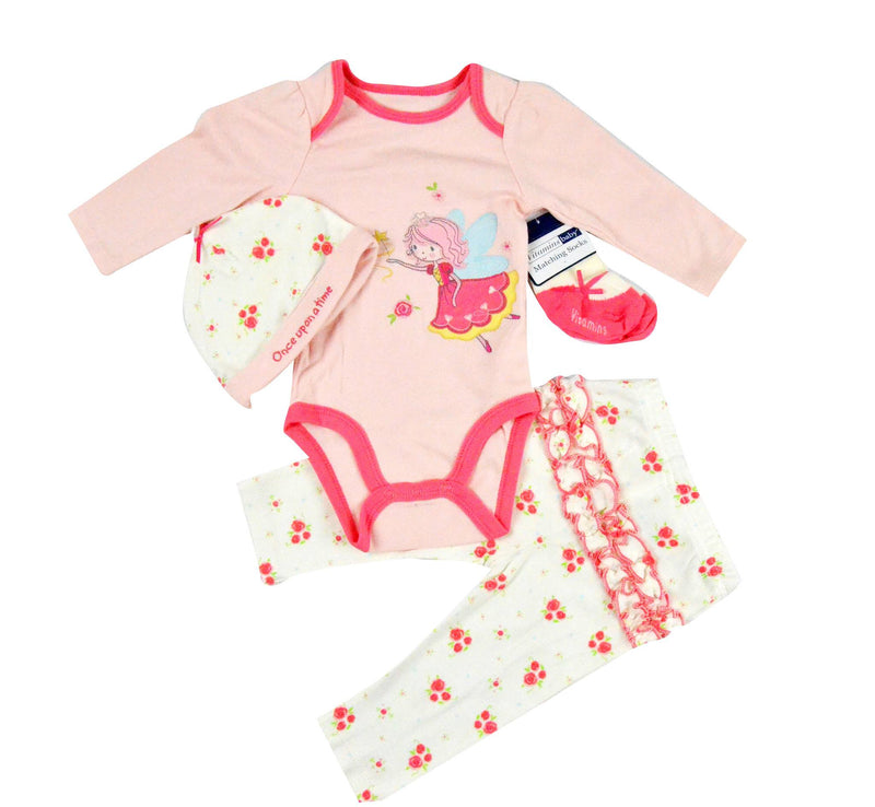Vitamins baby Baby girl Once Upon a Time Fairy 4 piece set