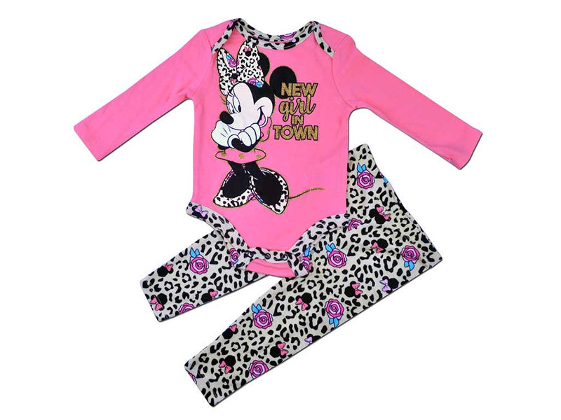 Disney Baby Girl Salon Rose 2 Piece Set