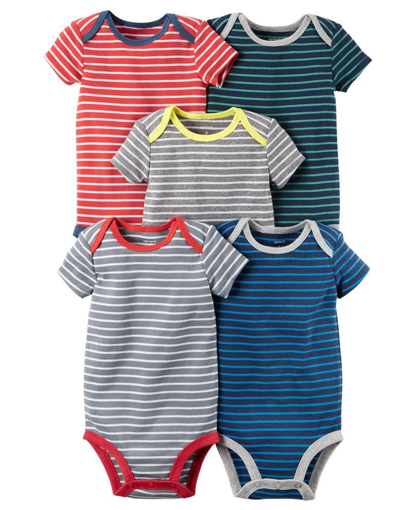 5-Pack-Short-Sleeve-Bodysuits