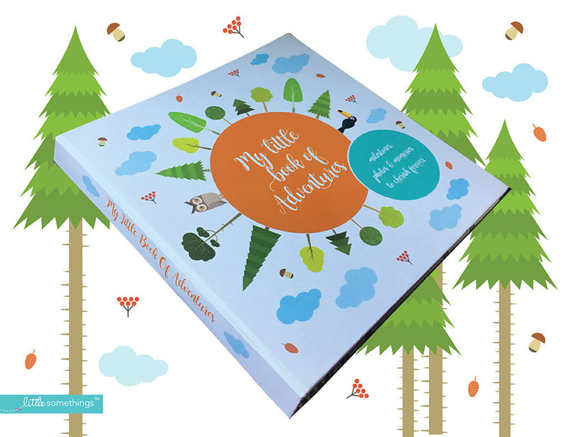 Little Somethings My Little Book of Adventures Baby Record Book