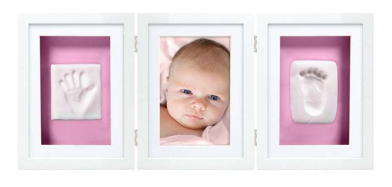 Babyprints desk frame triple- white
