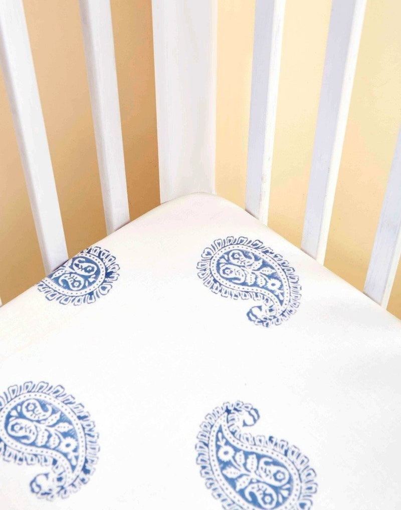 Fitted Crib Sheet - Fort