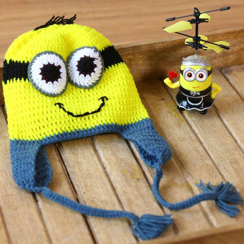 Nappy Monster Yellow Minion Cap