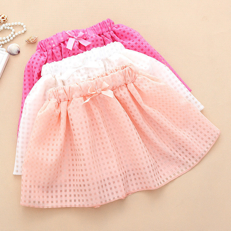 Peach Meshup (Skirt) | meemu.com | Kids fashion, accessories