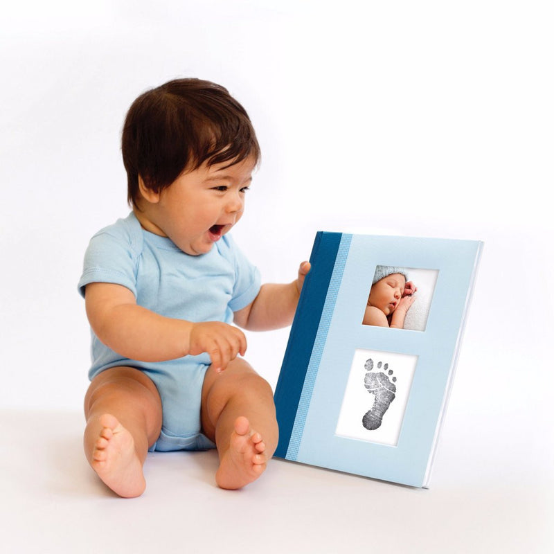 Classic baby book blue