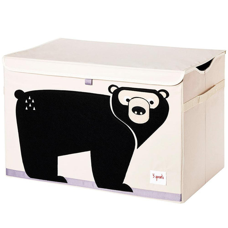 3 Sprouts Toy Chest - Black Bear