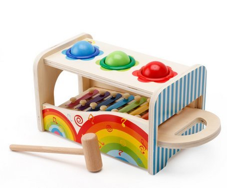 Munchkinz Multi-functional Knock the Ball on Xylophone Children's Educational Toy