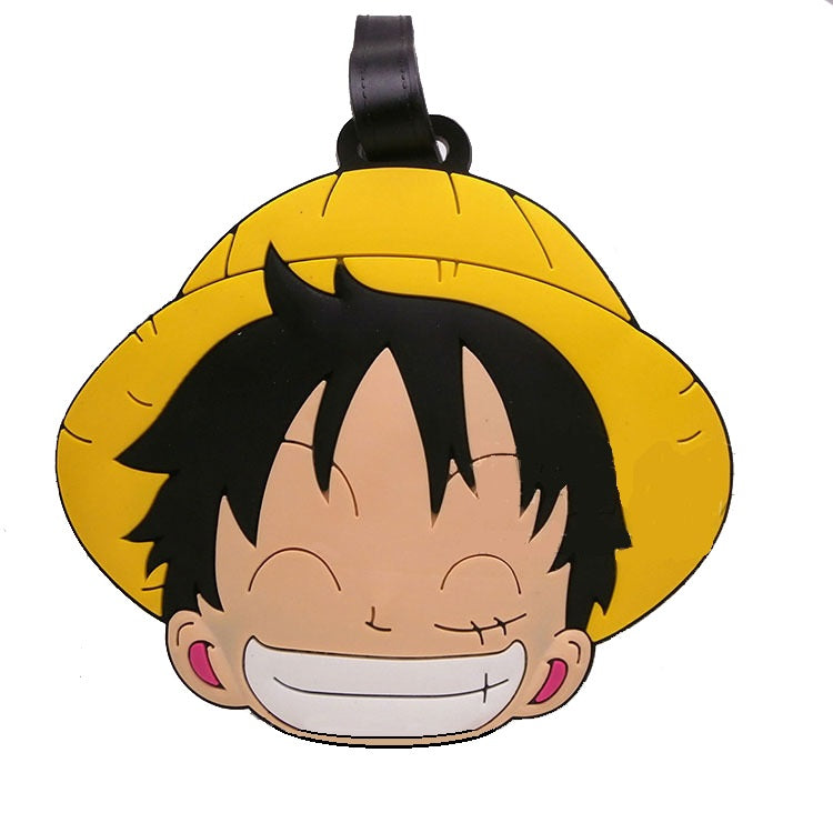 Laughing Luffy Luggage Tag