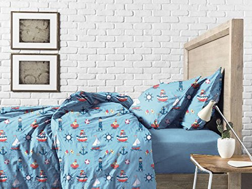 Haus & Sie Nautical Design Bed in a Bag Bedding Set