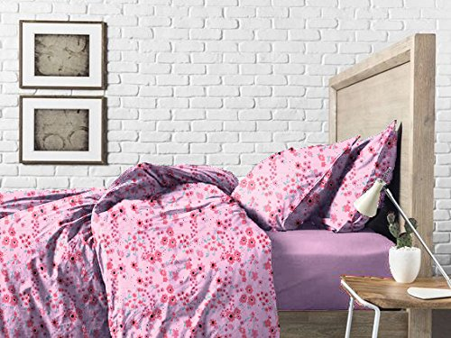 Haus & Sie Pink Blossom Bed in a Bag Bedding Set