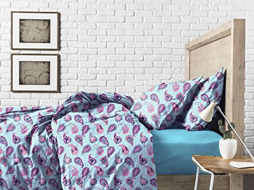 Haus & Sie Paisley Design Bed in a Bag Bedding Set