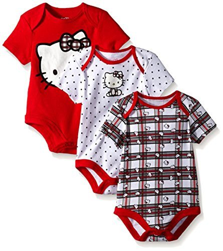 Hello Kitty Baby-Girls Bodysuits
