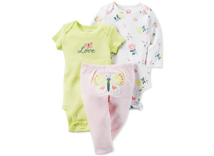 Butterfly-Layette-Set-Baby-Girls newborn-6m