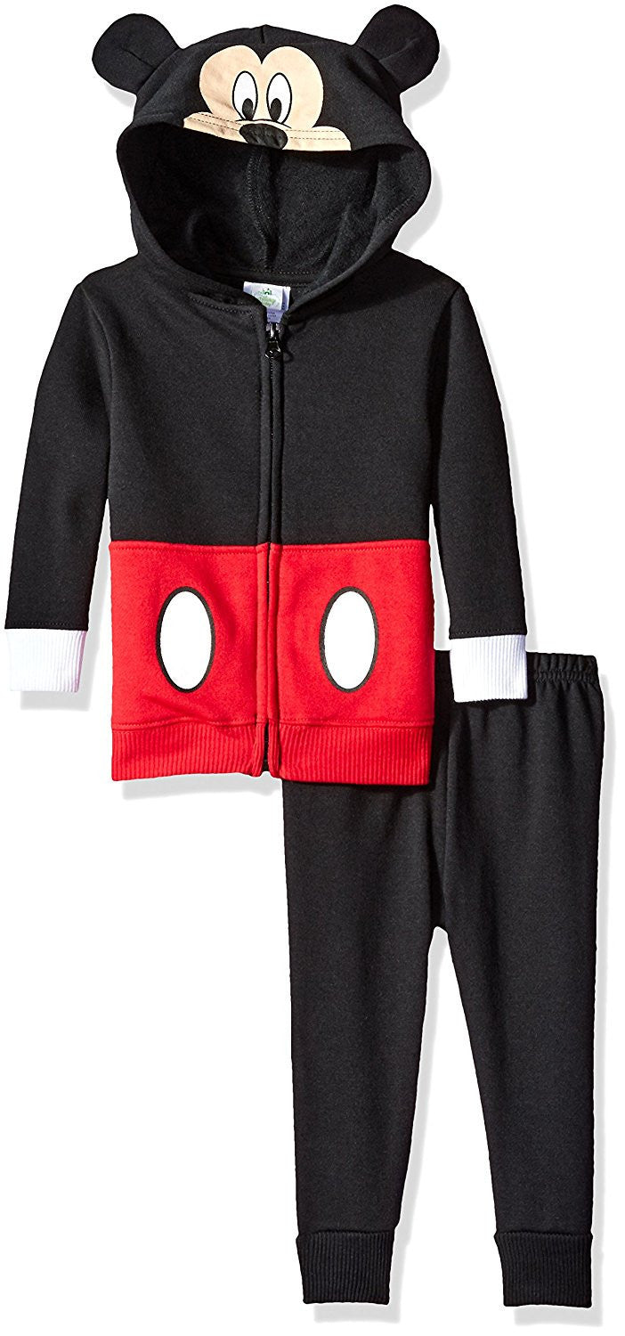 Disney Boys Red and Black Mickey Mouse Costume