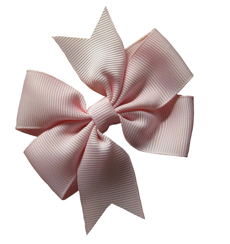 AkinosKIDS Light Pink Party Wear Bowknot Hair Clips