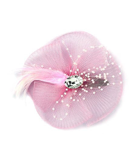 Aayera's Nest English Hat Style Pink Tic Tac Clip