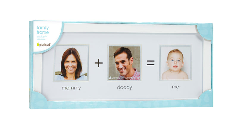 Mommy + daddy = Me frames (with words)