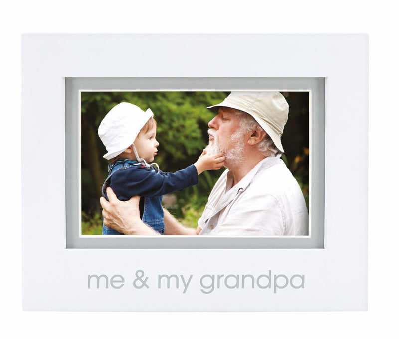 Me and Grandpa Frame